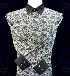black-pattern-shirt