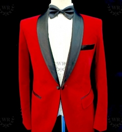 Red-tuxedo