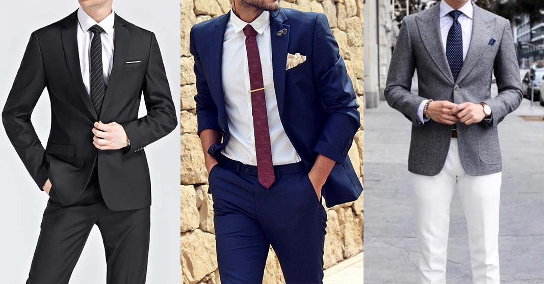 three main colors of suits