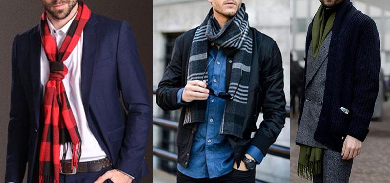 Keep warm by adding a scarf