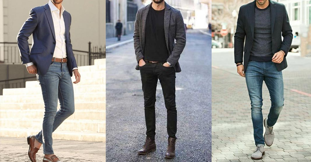 men in smart casual outfit