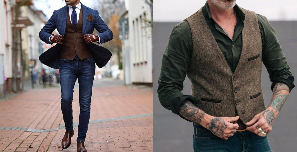 casual vests